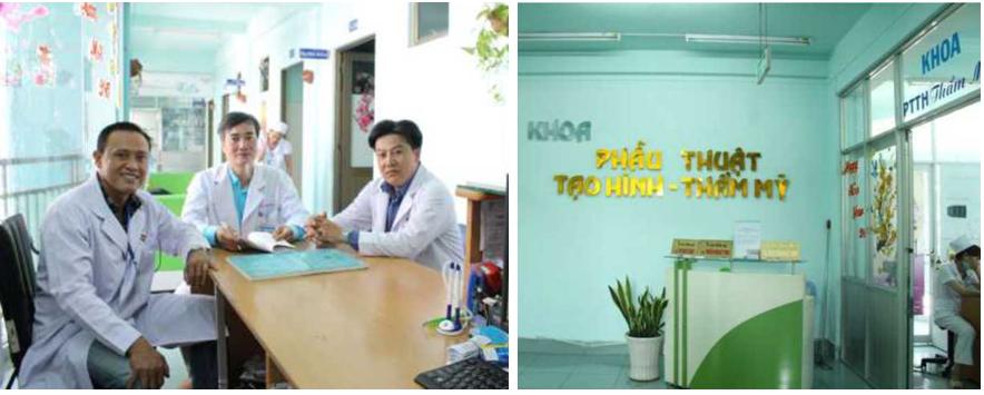Khoa Phẫu thuật Tạo hình Thẩm mỹ - Bệnh viện Nguyễn Tri Phương